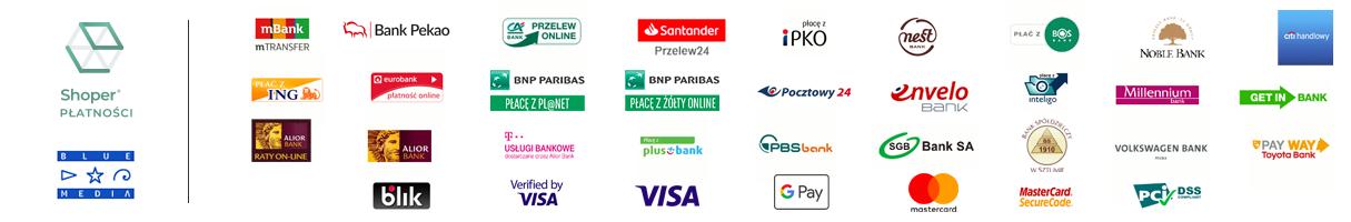Dostępne formy płatności dla www.winiety-online.pl
